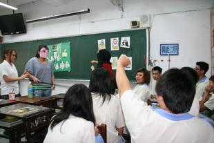 同學們參與活動踴躍