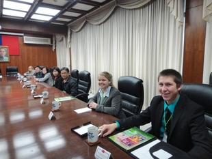 100年美國農業青年拜會外交部