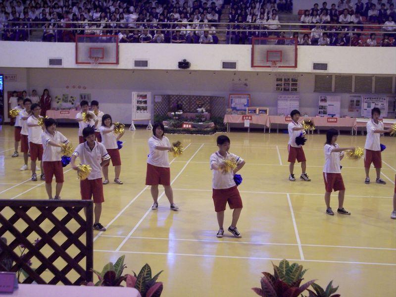 慶祝本校創校69週年校慶啦啦隊決賽花絮
