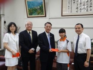 賀!餐管2乙吳幸珊同學榮獲獎金1萬元