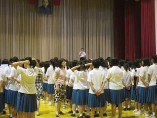 曉明女中學生到校體驗課程