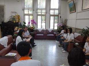 廣源慈善基金會宋執行長與學生訪談
