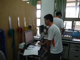 生物產業機電職種選手練習