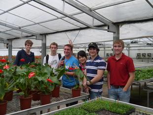 美國農業青年松賀種苗繁殖場參訪