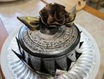 水波紋蛋糕成品