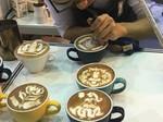 咖啡拉花展示