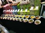香草茶樣式及療效展示桌