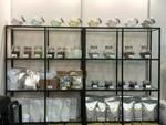 咖啡器材設備展示櫃