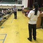 學生踴躍發言