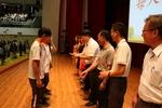 學生代表獻上對師長的感恩及祝福