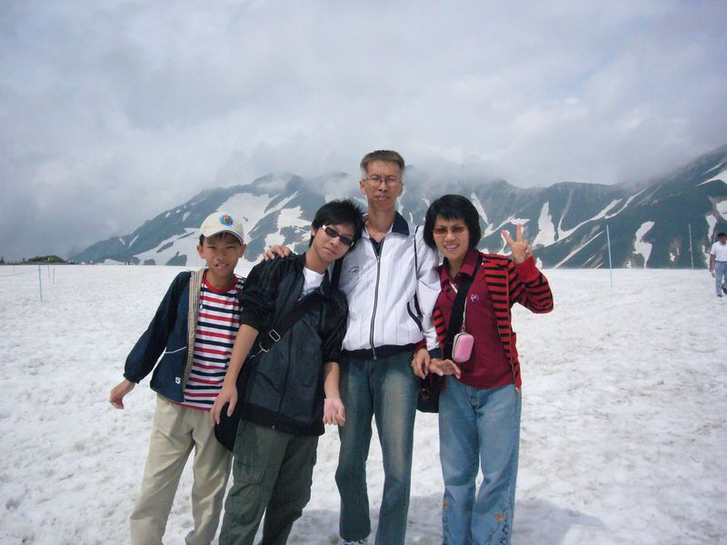 日本黑部立山