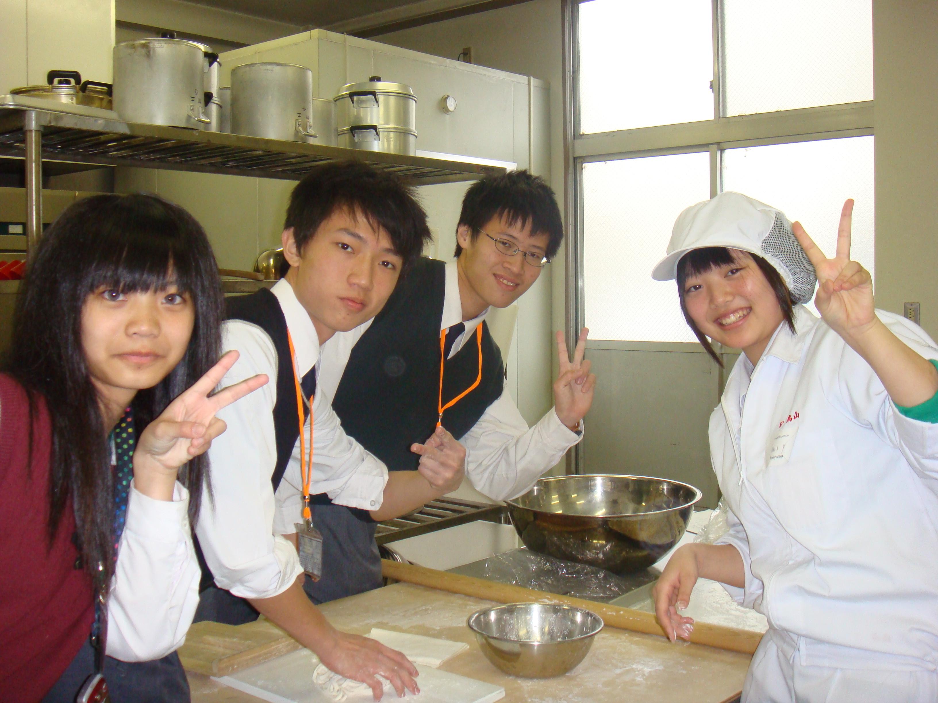 分組活動-手打烏龍麵製作