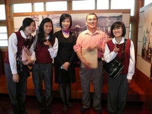 台德班學生參訪日月潭涵碧樓