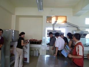 湖北省恩施州教育交流考察參訪  ---食品加工科