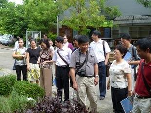 湖北省恩施州教育交流考察參訪  ---園藝科