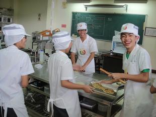 烘焙食品科實習實況1