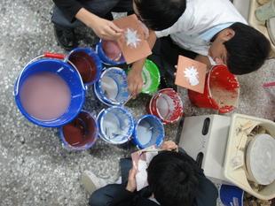飾品製作科陶藝課實習