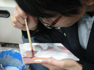 飾品製作科陶藝課實習1