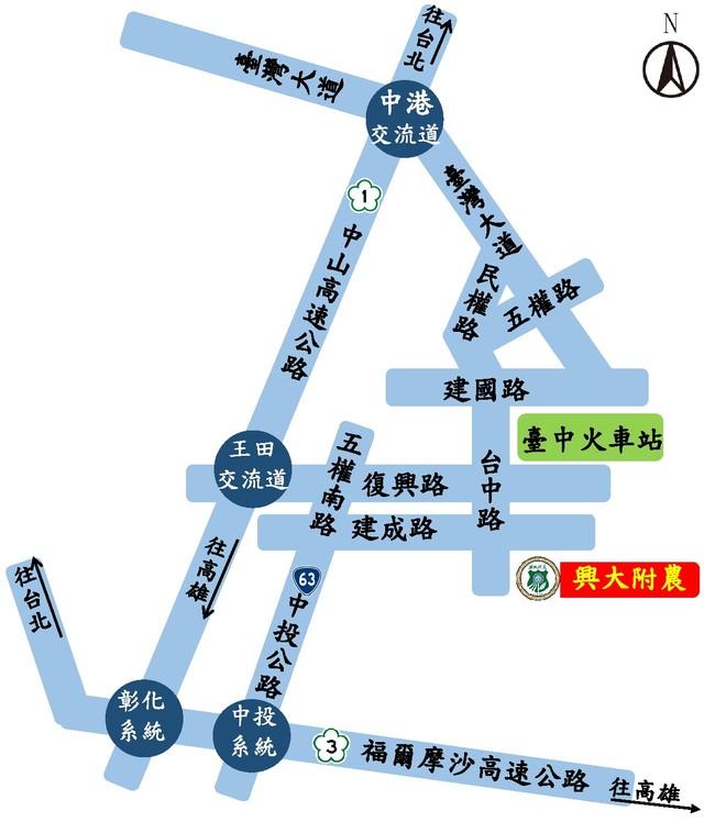 2018交通路線圖